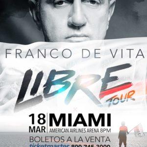 Franco de Vita anuncia su gira mundial 2017